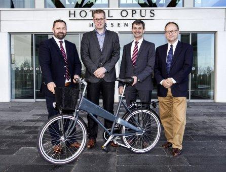 Bycykler i Horsens & Bispebjerg Hospital